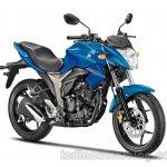 Suzuki Gixxer Front Blue
