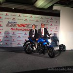 Suzuki Gixxer India launch live image