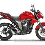 Suzuki Gixxer Side Red