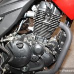 Suzuki Gixxer engine at the 2014 Nepal Auto Show