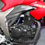 Suzuki Gixxer engine at the Indian launch