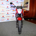 Suzuki Gixxer front at the Indian launch