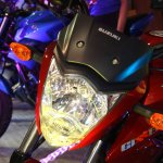 Suzuki Gixxer headlamp at the 2014 Nepal Auto Show