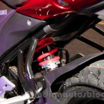 Suzuki Gixxer rear suspension at the Indian launch