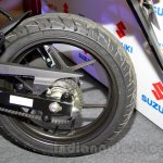 Suzuki Gixxer rear wheel at the Indian launch