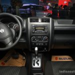 Suzuki Jimny interior at the 2014 CAMPI