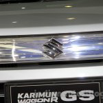 Suzuki Karimun Wagon R GS at the 2014 Indonesia International Motor Show grille element