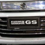 Suzuki Karimun Wagon R GS at the 2014 Indonesia International Motor Show grille