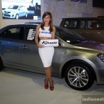 Suzuki Kizashi side at the CAPMI 2014