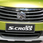 Suzuki SX-4 S-Cross grille at the Indonesia International Motor Show 2014