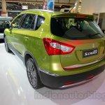 Suzuki SX-4 S-Cross rear three quarters left at the Indonesia International Motor Show 2014