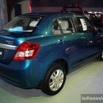 Suzuki Swift Dzire rear three quarter at the CAPMI 2014