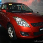 Suzuki Swift front three quarter at the CAPMI 2014