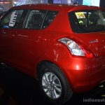 Suzuki Swift rear left three quarter at the CAPMI 2014
