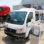 Tata Ace EX2 outdoor van at the 2014 Indonesia International Motor Show front quarter