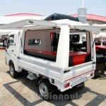 Tata Ace EX2 outdoor van at the 2014 Indonesia International Motor Show rear quarter