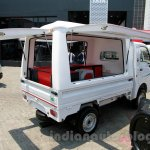 Tata Ace EX2 outdoor van at the 2014 Indonesia International Motor Show rear quarters