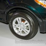 Tata Aria AT A-Tronic at the 2014 Indonesia International Motor Show wheel