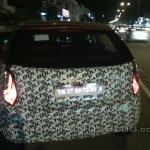 Tata Bolt spied Coimbatore LED taillights