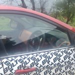 Tata Bolt spotted on test dashboard