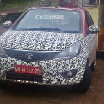 Tata Bolt spotted on test front