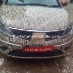 Tata Bolt with orange interior spied grille