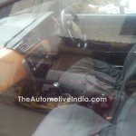 Tata Bolt with orange interior spied interior