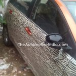 Tata Bolt with orange interior spied windows