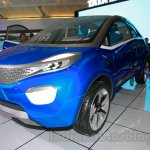 Tata Nexon at the 2014 Indonesia International Motor Show front quarters