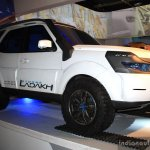 Tata Safari Storme Ladakh Concept front right three quarter at the 2014 Nepal Auto Show