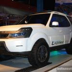 Tata Safari Storme Ladakh Concept front three quarter at the 2014 Nepal Auto Show