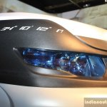 Tata Safari Storme Ladakh Concept projecter headlamp at the 2014 Nepal Auto Show