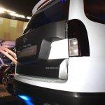 Tata Safari Storme Ladakh Concept rear fascia at the 2014 Nepal Auto Show