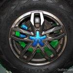 Tata Safari Storme Ladakh Concept wheel at the 2014 Nepal Auto Show
