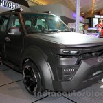 Tata Safari Storme Modified at the 2014 Indonesia International Motor Show front quarter