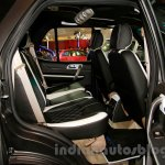 Tata Safari Storme Modified at the 2014 Indonesia International Motor Show rear seat