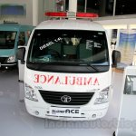 Tata Super Ace Ambulance at the 2014 Indonesia International Motor Show front