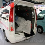 Tata Super Ace Ambulance at the 2014 Indonesia International Motor Show rear quarters