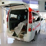 Tata Super Ace Ambulance at the 2014 Indonesia International Motor Show rear