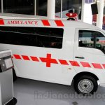 Tata Super Ace Ambulance at the 2014 Indonesia International Motor Show side