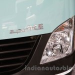 Tata Super Ace Angkot at the 2014 Indonesia International Motor Show headlight