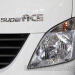 Tata Super Ace at the 2014 Indonesia International Motor Show headlight
