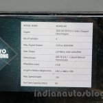 Tata Xenon RX Cold storage at the 2014 Indonesia International Motor Show specs