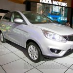 Tata Zest at the 2014 Indonesia International Motor Show front quarter