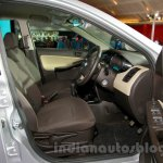 Tata Zest at the 2014 Indonesia International Motor Show front seat