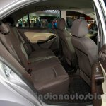Tata Zest at the 2014 Indonesia International Motor Show rear seat