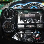 Toyota Etios Cross centre console at the 2014 Nepal Auto Show
