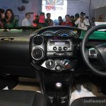 Toyota Etios Cross interior at the 2014 Nepal Auto Show