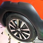 Toyota Etios Cross plastic wheel arch at the 2014 Nepal Auto Show
