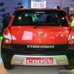Toyota Etios Cross rear at the 2014 NADA Auto Show Nepal